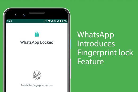 WhatsApp introduces fingerprint lock feature