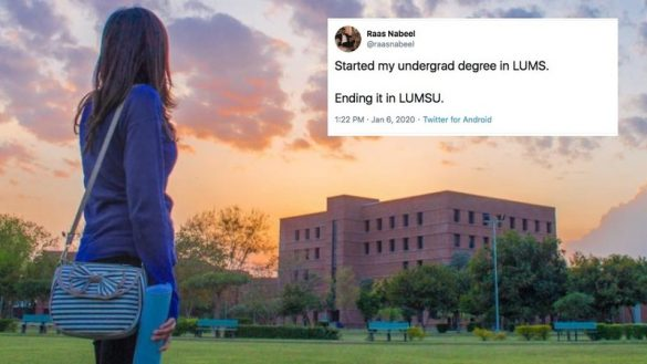 LUMS plans to rebrand itself as LUMSU goes awry on Twitter