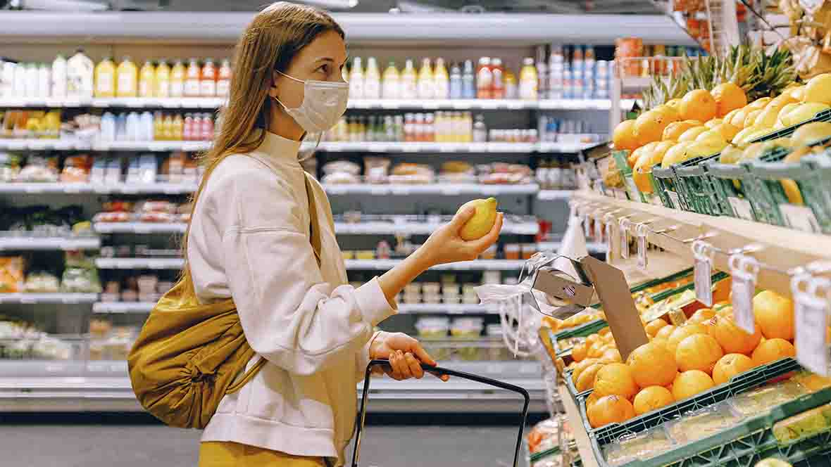 Amazon Grocery Wait lines Amid the COVID-19 Pandemic