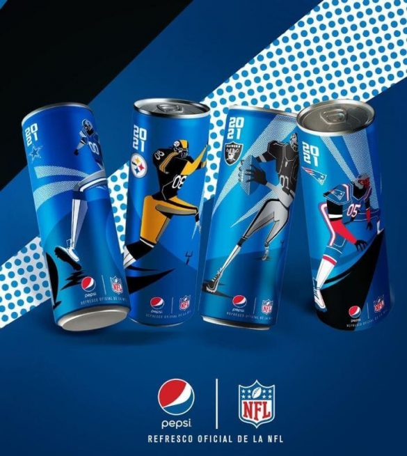 PepsiCoDesign team partnered with theNational Football League (NFL)